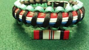 Afghanistan Campaign Service Medal/Ribbon Bracelet