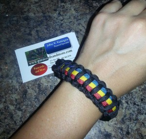 Abbey rockin her bracelet